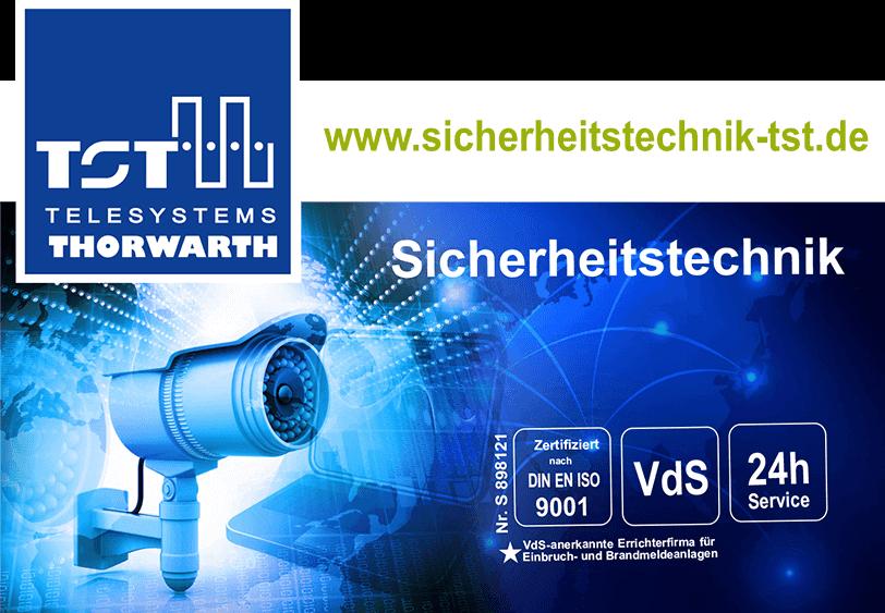 Telesystems Thorwarth GmbH – Ihr Spezialist für Sicherheitstechnik aus Schmalkalden in Thüringen